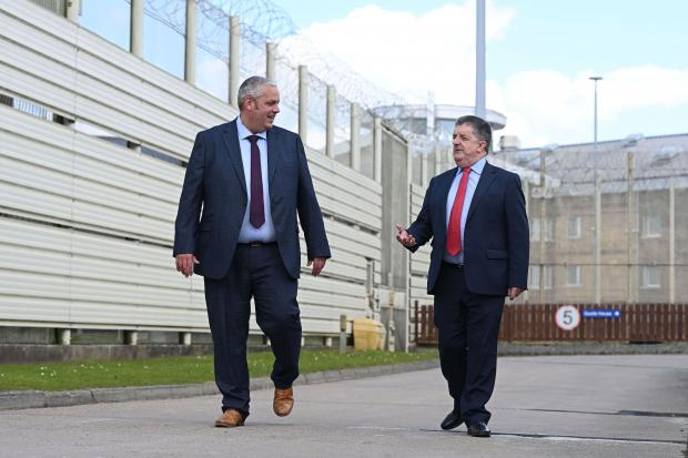 David Savage and Ronnie Armour