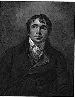 Engraved portrait plate of JP Curran (Artist: Sir Thomas Lawrence, Engraver: CJ Wagstaff)