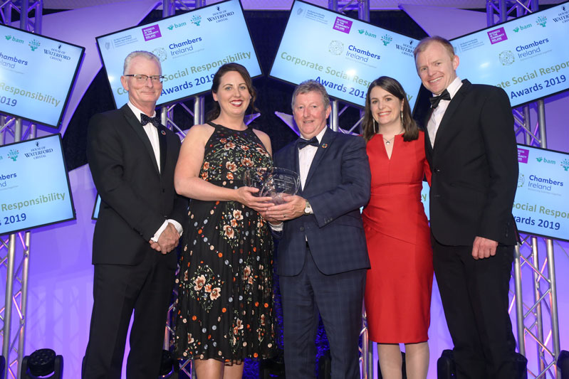 A&L Goodbody recognised for collaboration with Irish Refugee Council