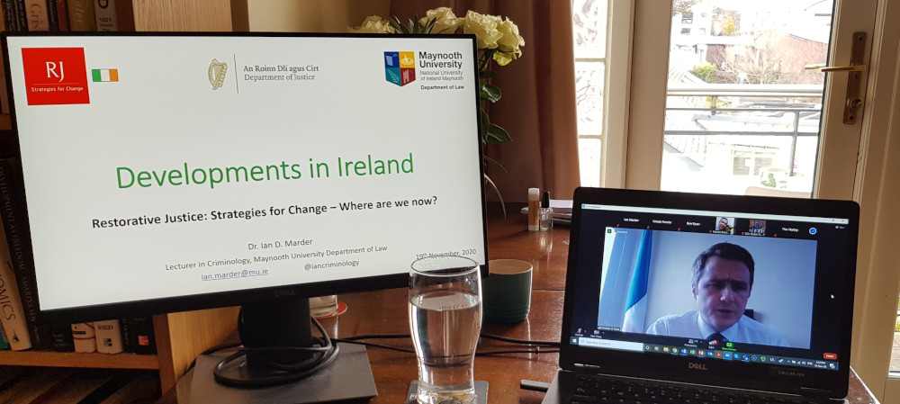 Government reaffirms commitment to restorative justice at webinar