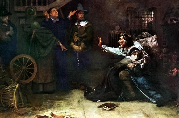 Accused of Witchcraft (1884) by Douglas Volk