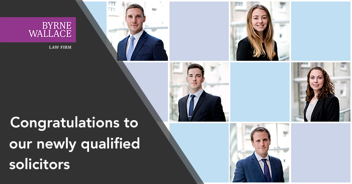 ByrneWallace congratulates five newly-qualified solicitors
