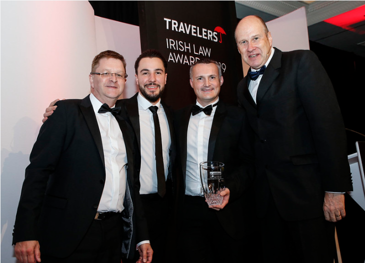 LEAP scoops 'Service Provider to the Legal Profession' award at Irish Law Awards 2019