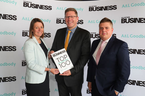 NI: A&L Goodbody joins leading businesses at Ulster Business Top 100 launch