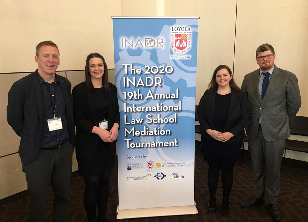 #InPictures: Irish trainee solicitors win international mediation tournament