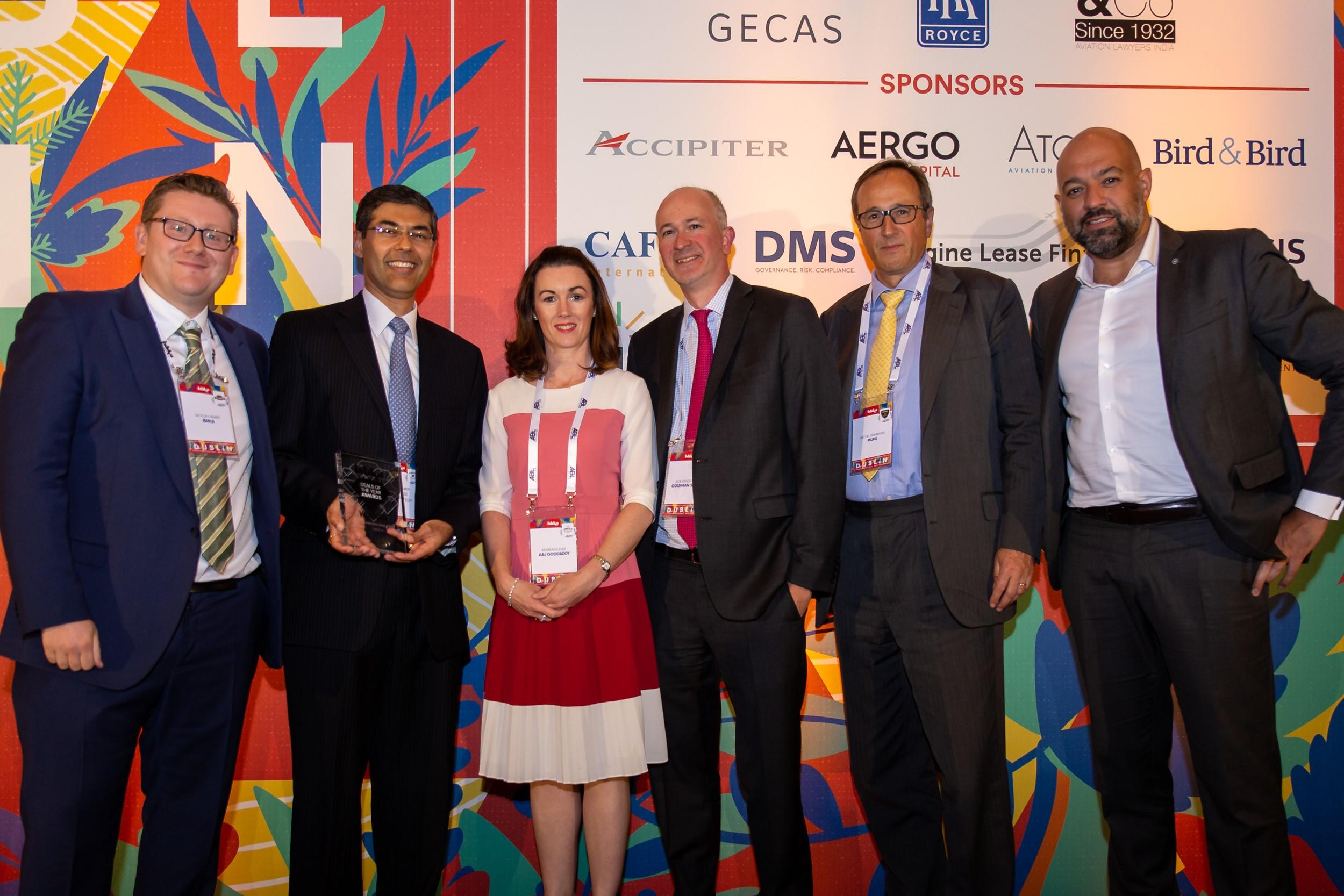 A&L Goodbody wins aviation finance innovation award