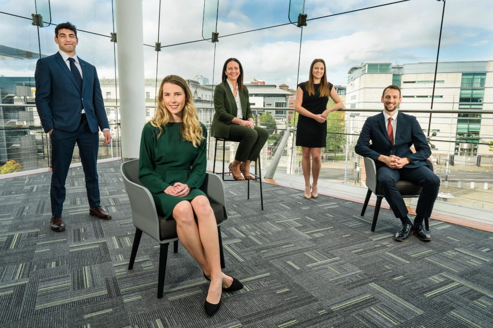 NI: A&L Goodbody recruits four new solicitors in Belfast