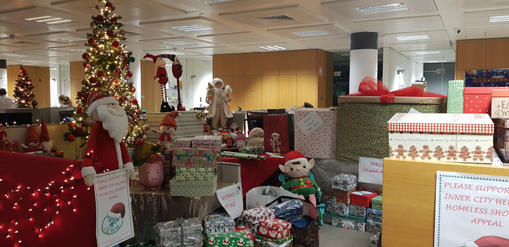 #InPictures: A&L Goodbody staff support charity's 'shoebox appeal'