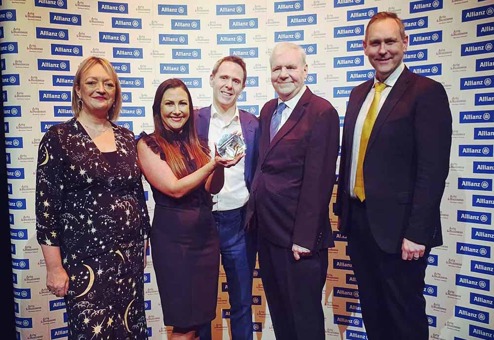 NI: A&L Goodbody recognised for arts and business partnerships