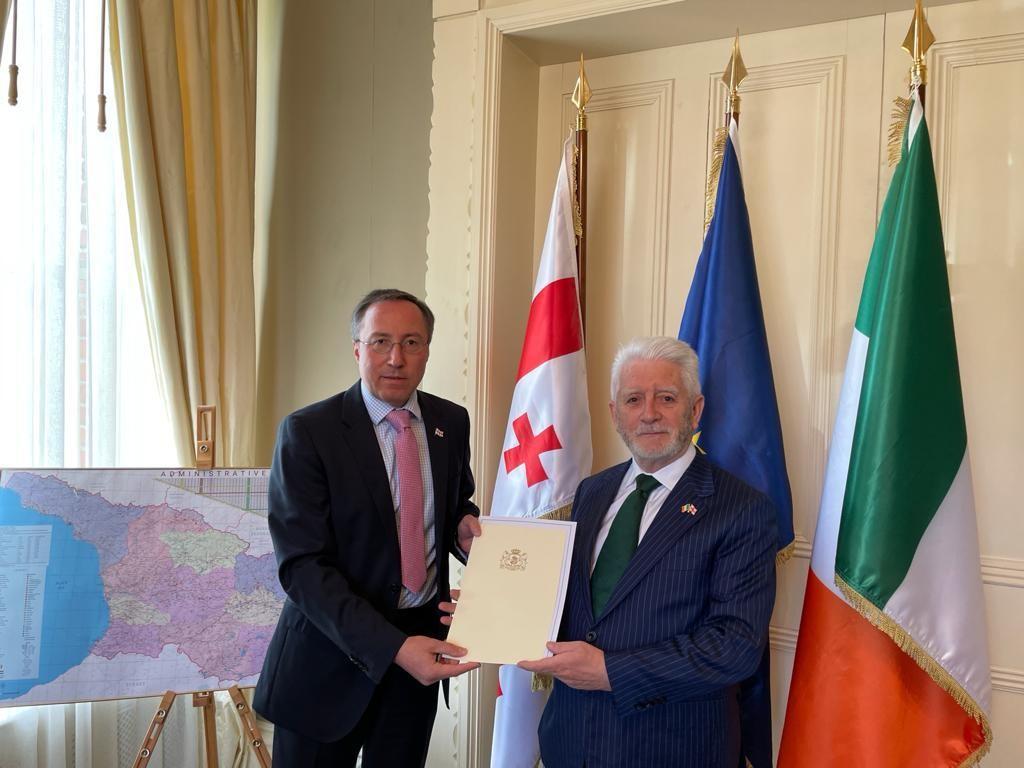 James Bridgeman SC appointed honorary consul for Georgia