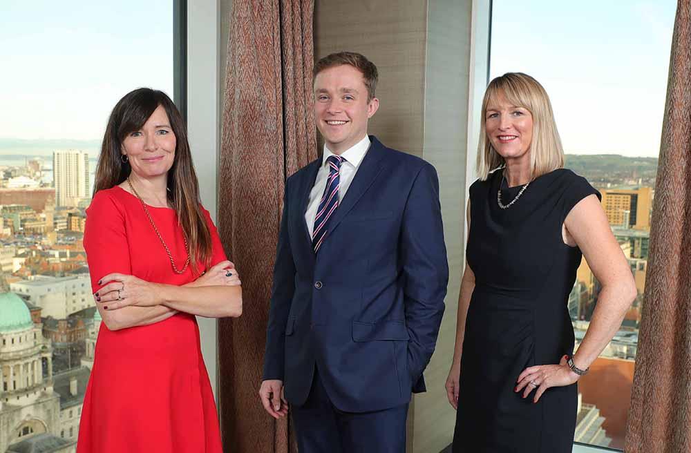 Aisling Byrne; Timothy Rankin; and Caroline MacLaughlin