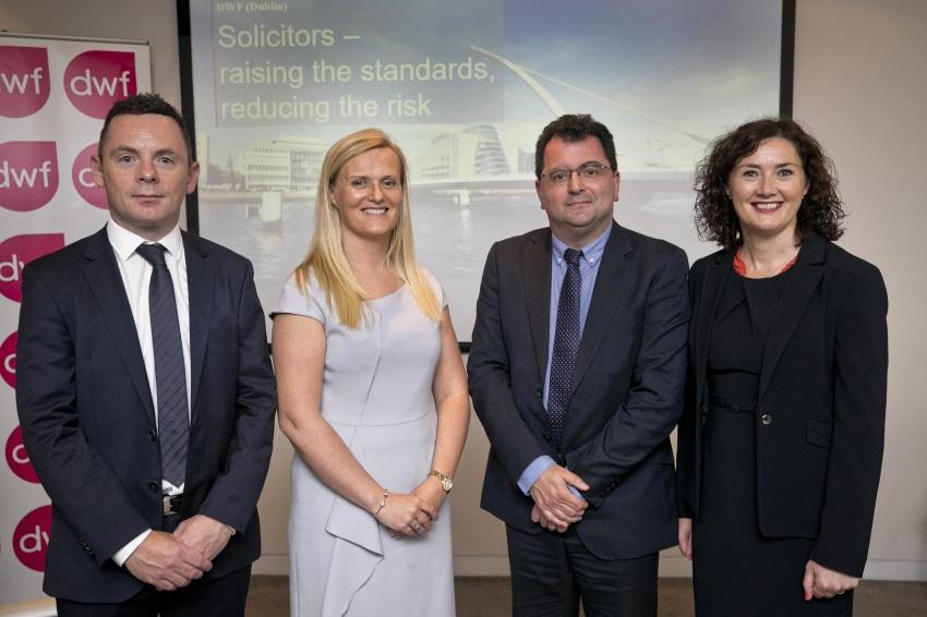 Aidan Leonard, Julie Brennan, Brian Doherty and Sinéad Ryan
