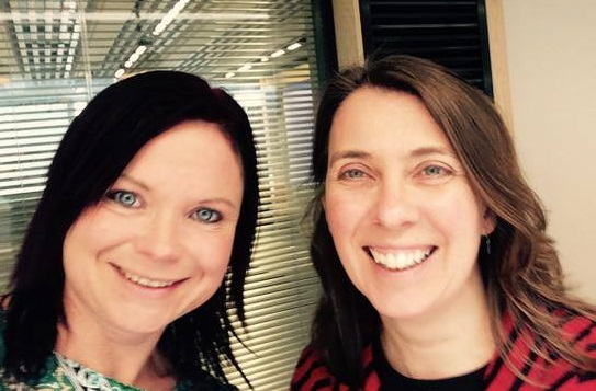 Dr Aisling Parkes and Dr Fiona Donson