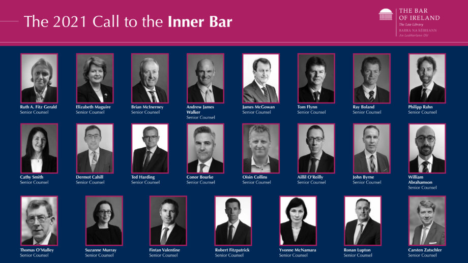 Twenty-three barristers called to the Inner Bar today