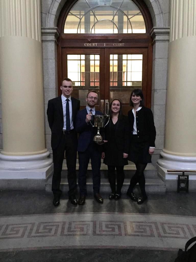 Shauna Scannell, Darren McConnon, Louise O'Callaghan and Samuel Elliott
