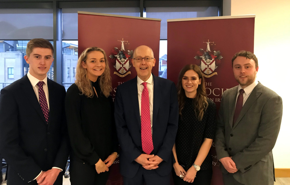 NI: Over 100 new apprentice solicitors welcomed by Law Society