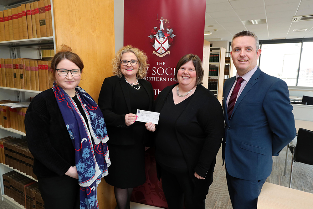 NI: Immigration lawyers raise £1,000 for human trafficking charity