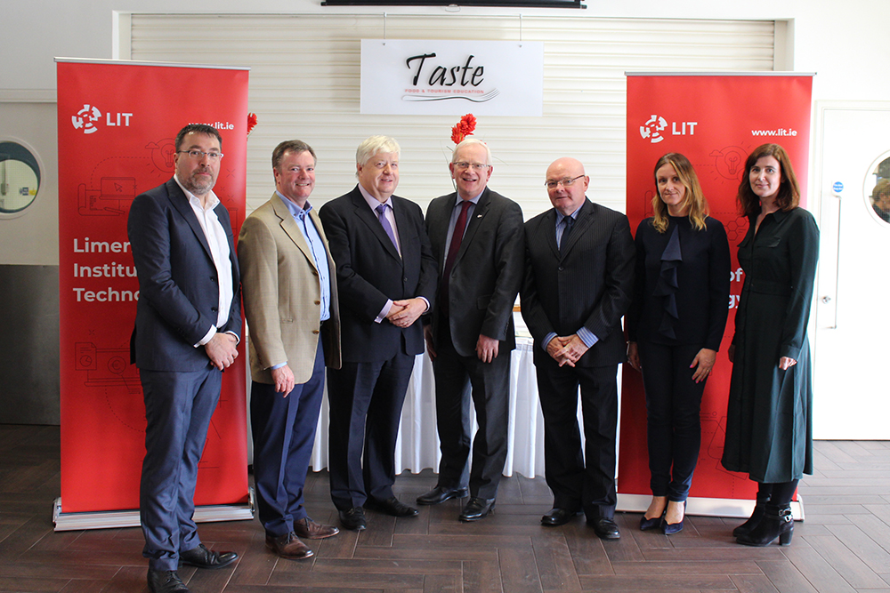PJ Ryan, James Collins, Mr Justice John Edwards, Professor Vincent Cunnane, John Quigley, Edith O'Leary and Ann-Marie Dooley