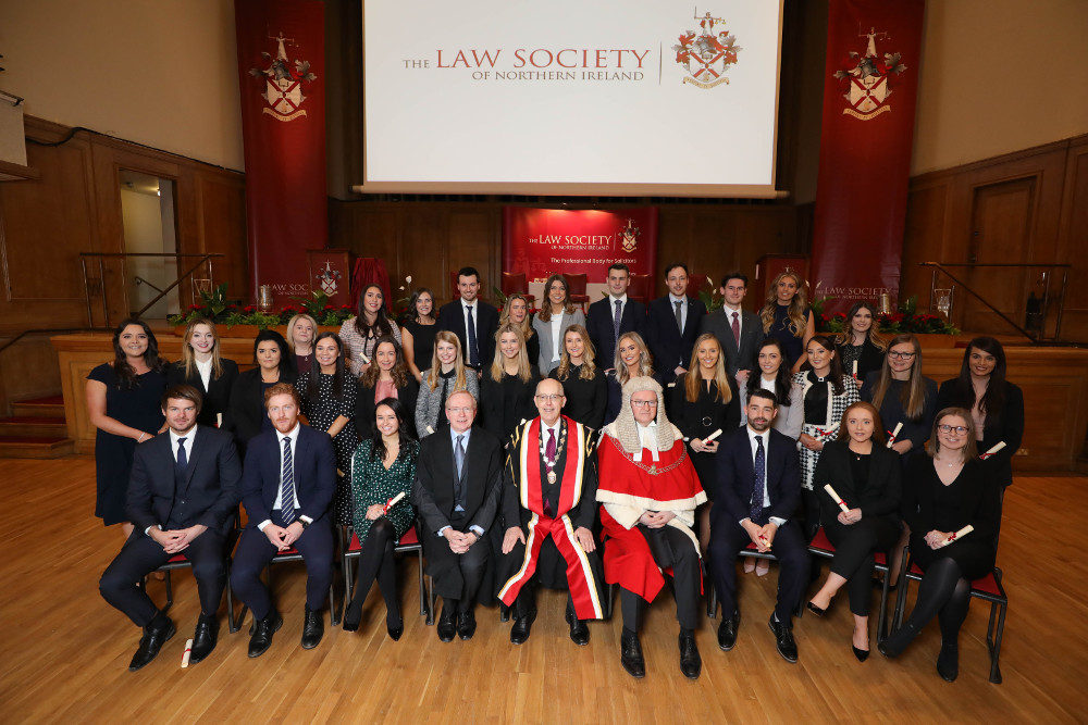 NI: Law Society welcomes 86 newly-qualified solicitors