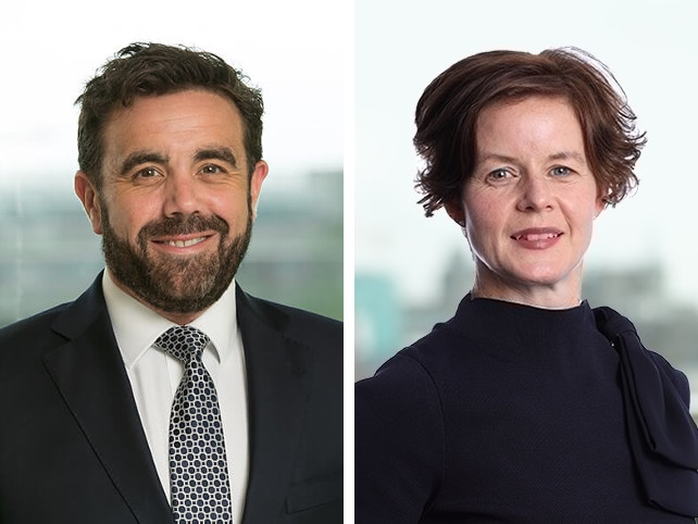 Colm Rafferty and Karen Killalea appointed to Maples management team