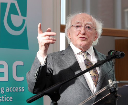 President Higgins: Barriers to access to justice 'damaging very fabric of Irish society'