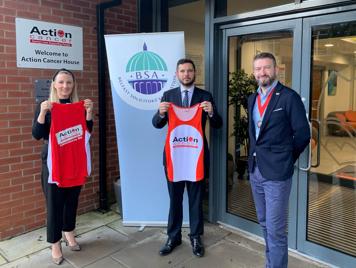 Belfast solicitors raise over £3,500 for charity