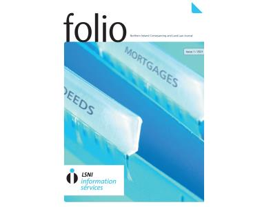NI: Latest edition of conveyancing journal Folio published