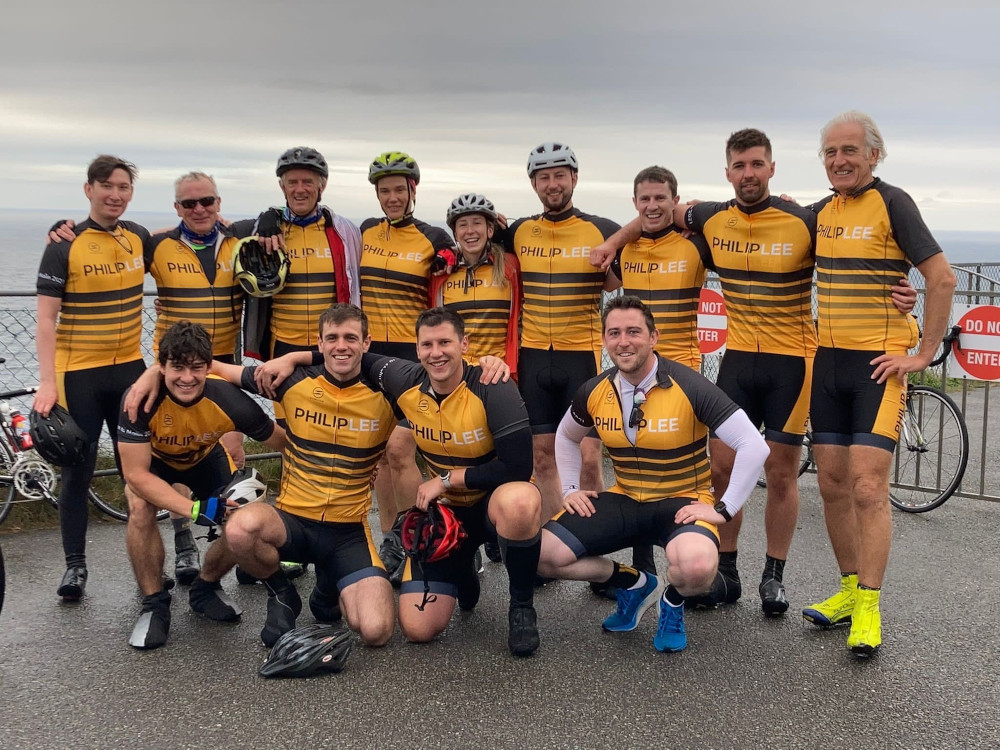 #InPictures: Philip Lee team set off on 652km charity cycle