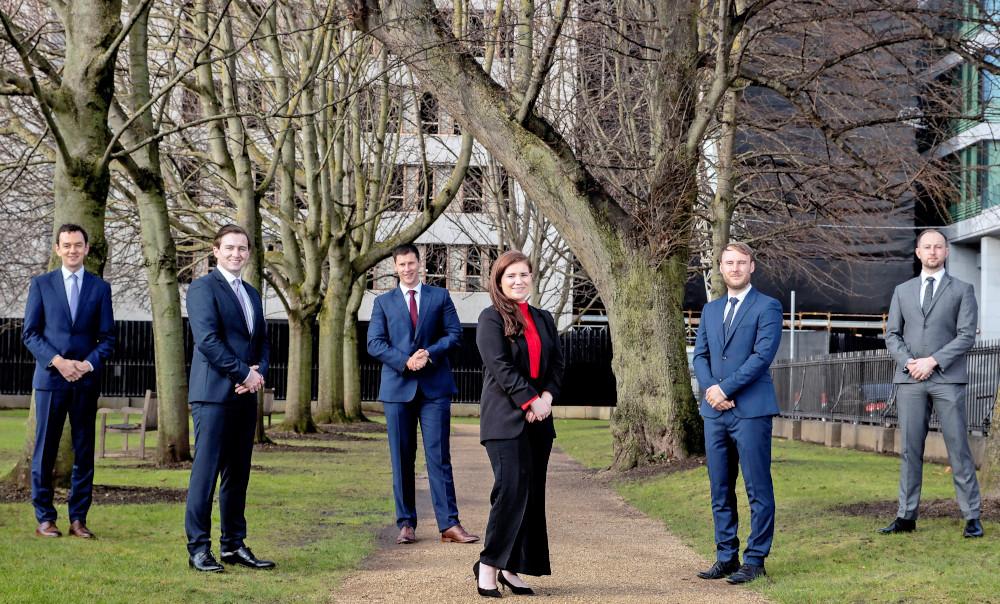 Daniel Hanrahan, Ian Hanrahan, Thompson Barry Doherty, Deirdre Brannigan, Andrew Houlihan, Oisín O'Callaghan