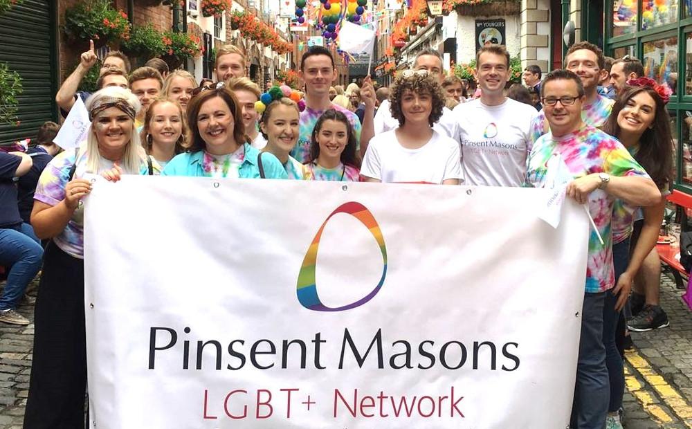 Pinsent Masons at Belfast Pride