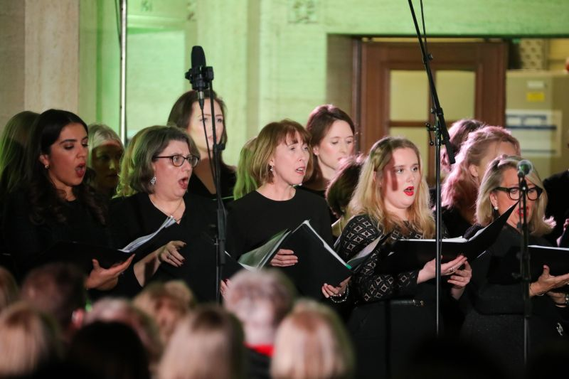 NI: Royal Courts of Justice packed out for Pro Bono Choir concert