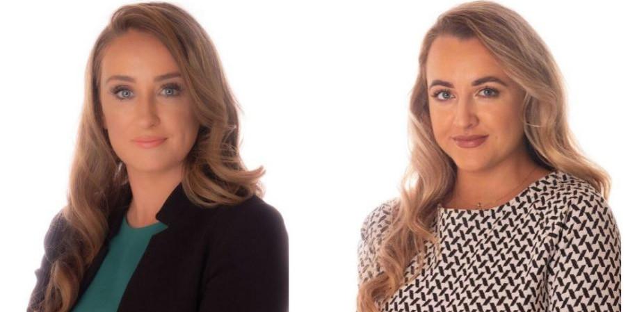 Stephanie Whelan and Caoimhe McCrea