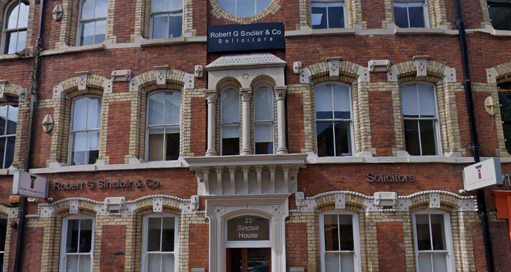 NI: Robert G Sinclair & Co Ltd taken over by Law Society