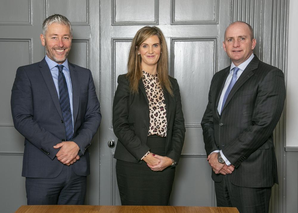James Sherwin, Elaine McNally and David O'Riordan