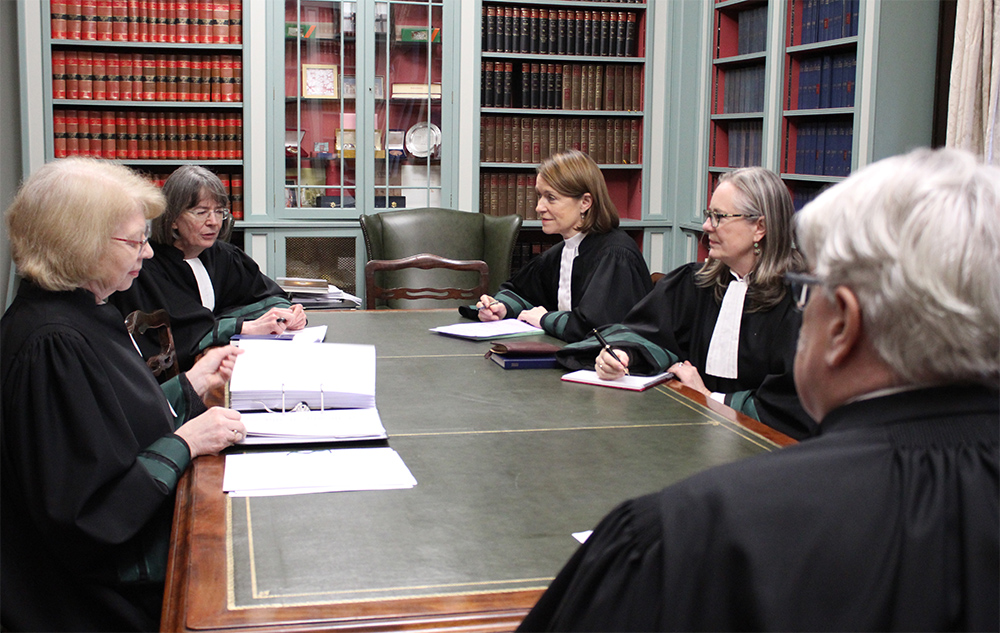 Supreme Court sits with four women judges in five-judge panel in landmark moment