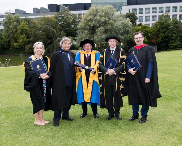 Professor Imelda Maher, Anthony Kerr, Dr Kevin Duffy, Professor Andrew Deeks and Professor Colin Scott