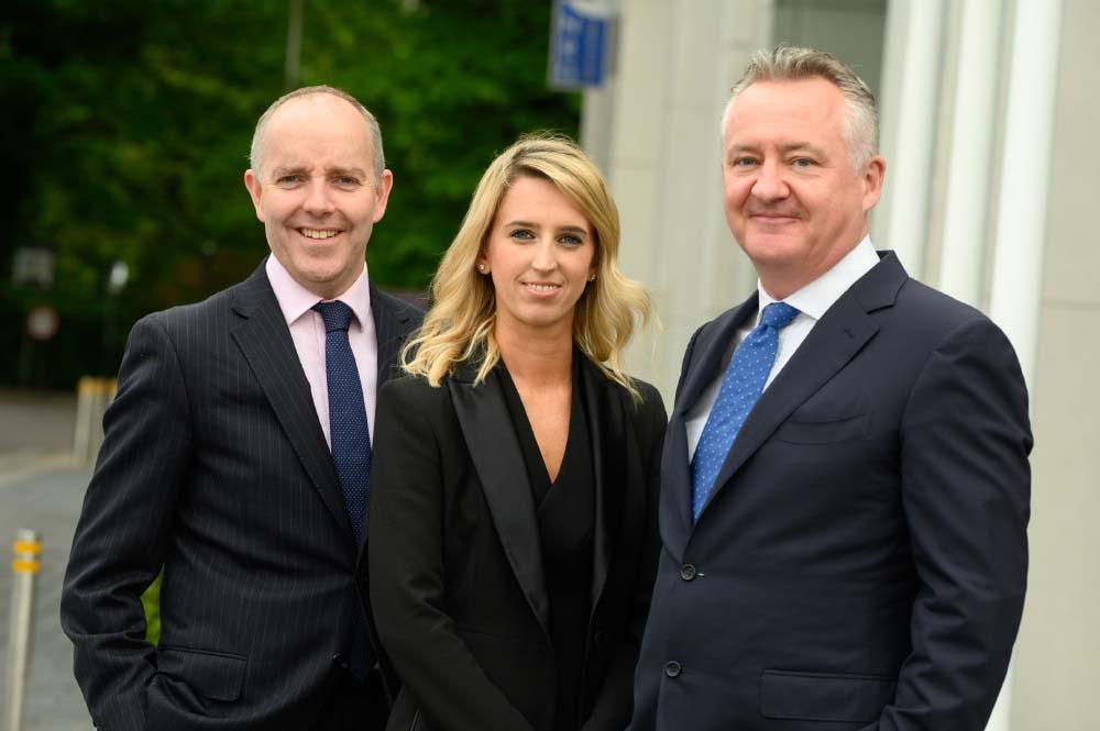 Brian O'Callaghan, Laura Houlihan and Bryan Bourke